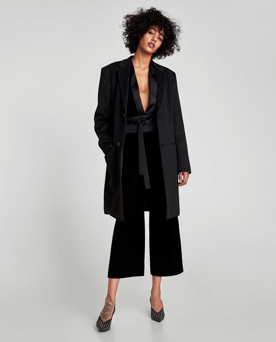 ZARA - WOMAN - VELVET CULOTTES Formal Suits 6de8d8dbcb8