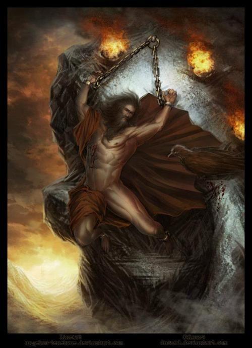 Prometheus was the son of the titan Iapetus, the God of ...Iapetus Titan