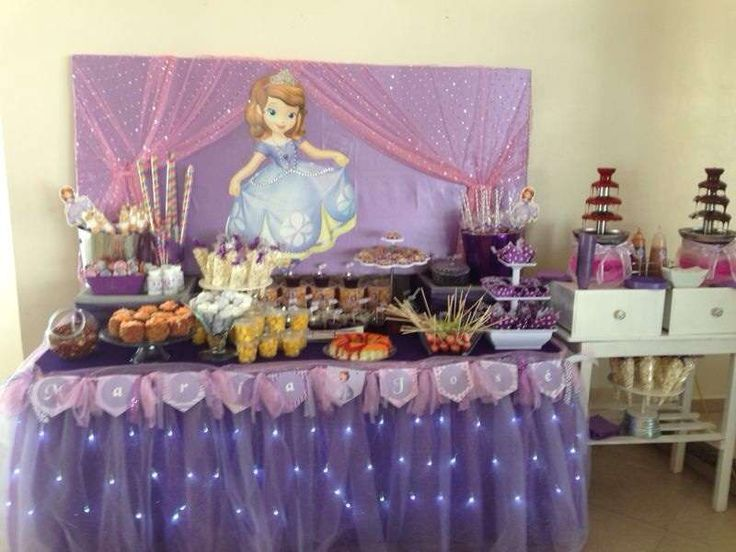 Sofia the First Birthday Party Ideas | Photo 2 of 6