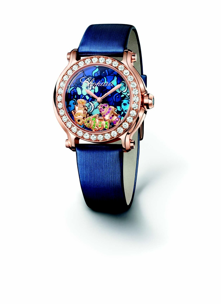 Exuding the nautical beauty in Happy Fish by Chopard.