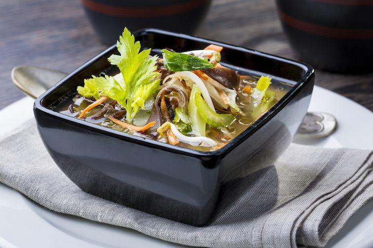 Thai csirke leves // Zöldségleves csirkével