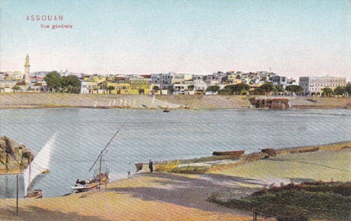 Bet el Kerem, Aswan, Egypt. The history of Egypt's most popular winter resorts in old post cards