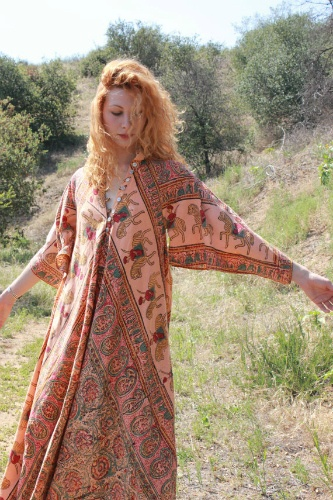 What could be easier than a stylish summer caftan?
