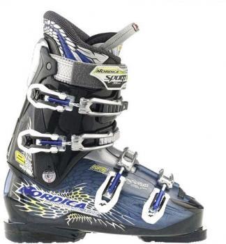 $166 Botas de esquí de hombre Sportmachine 90 Nórdica - esquiadores avanzados - sistema NFS