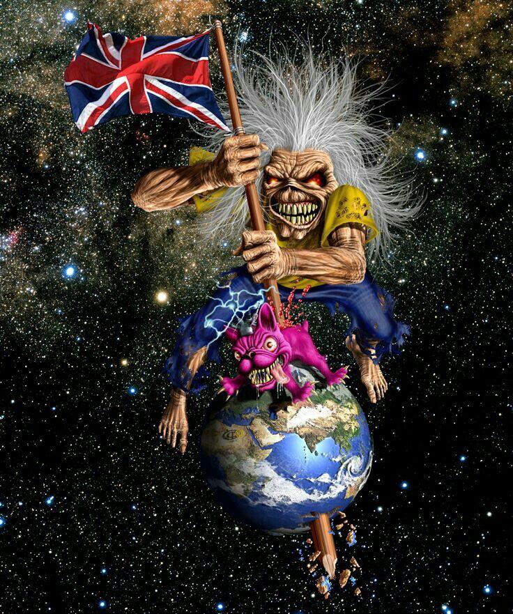 17 Beste Afbeeldingen Over Iron Maiden S Eddie Op Pinterest