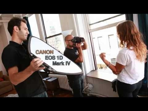 The Canon 1D Mark IV with photographer David 'Shadi' Perez