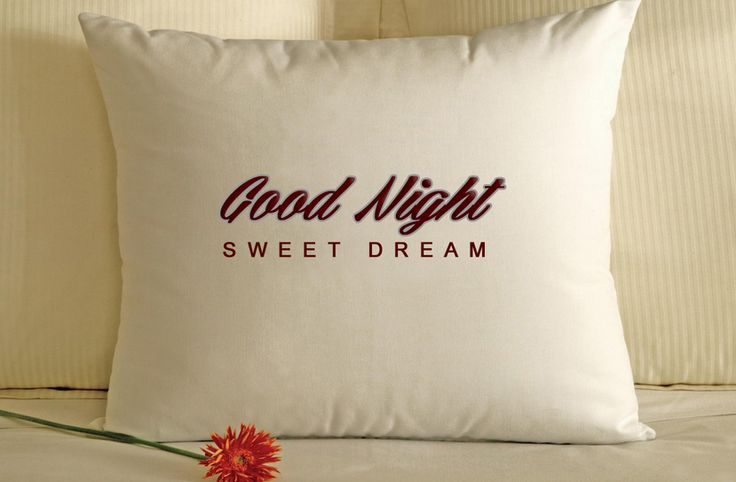 Good Night Sweet Dreams Pillow