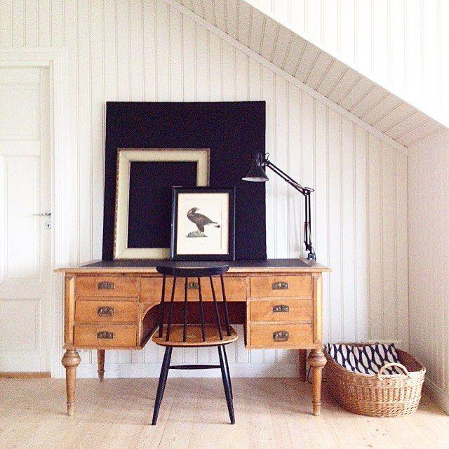 Johanna Sandberg Home. Vintagedesk. Tapiovaara chair. @designsandberg