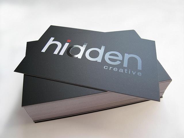Hidden Creative Bus Card 6 Cool Business Cards Business Cards Creative Business Card Design Creative