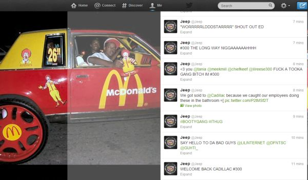 After Burger King, Jeep's Twitter Account Also Hacked - The last few days have been somewhat of a high-level hacking spree on Twitter. The accounts of a number of major companies were hacked, not to mention some companies who decided to feign being hacked. After Burger King\'s account hack on Monday, it was Jeep\'s turn on Tuesday. [Click on Image Or Source on Top to See Full News]