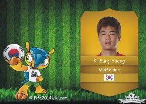 Ki Sung-Yueng - South Korea Player - FIFA 2014