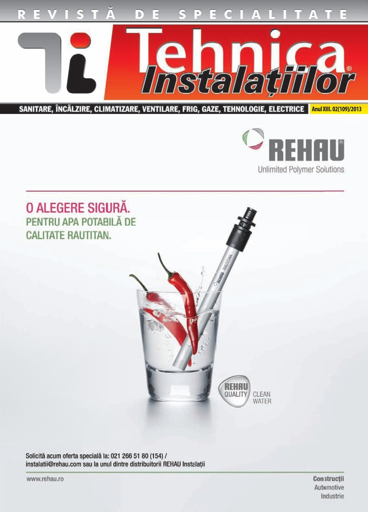 Revista Tehnica Instalatiilor nr. 02_109_2013