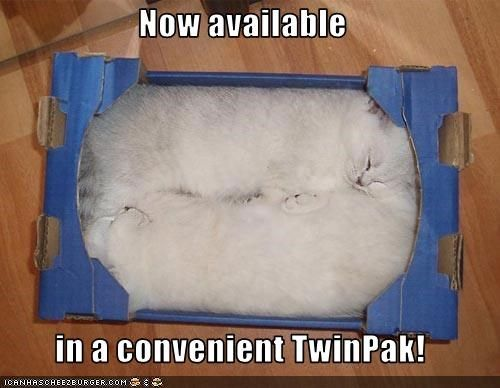 Now available  in a convenient TwinPak!