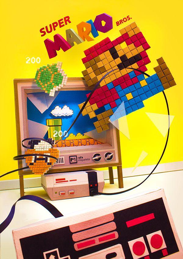 Super Mario Bros by Rafa Miqueleto