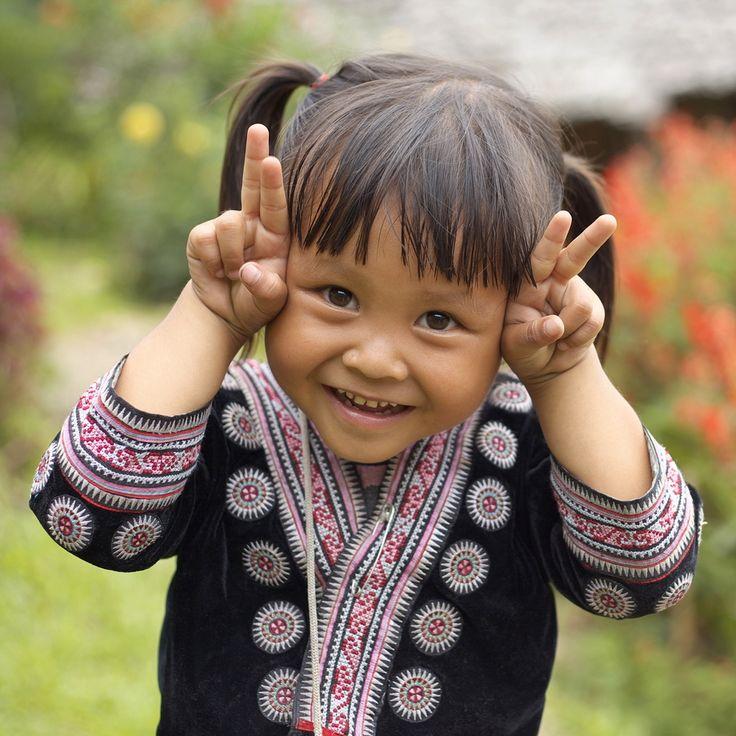 Beautiful little girl. Thailand