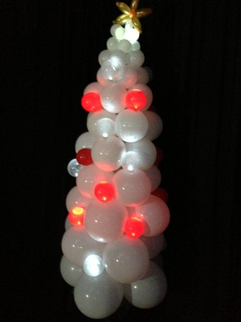 One of our Sparkle Balloon Christmas Trees.
