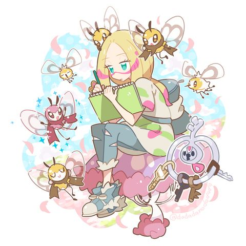 Don't know the artist- my fave character from sun and moon!!!