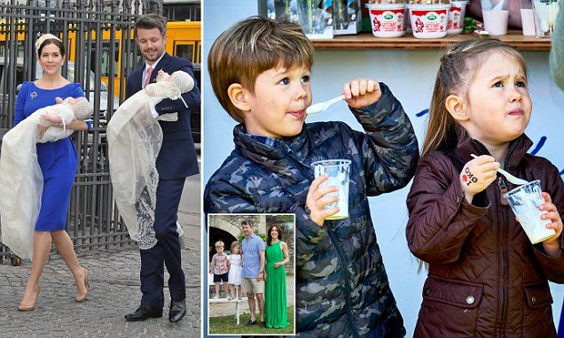Denmark's Prince Frederik and Australian-born Princess Mary will celebrate their twins Prince Vincent and Princess Josephine's fifth birthday on January 8.