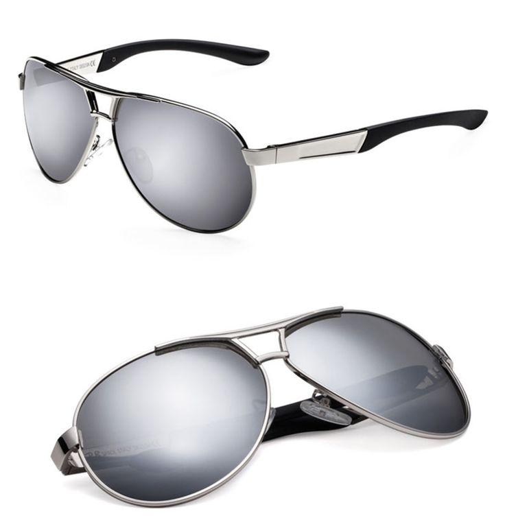 Men's UV400 Polarized Sunglasses With Case Box