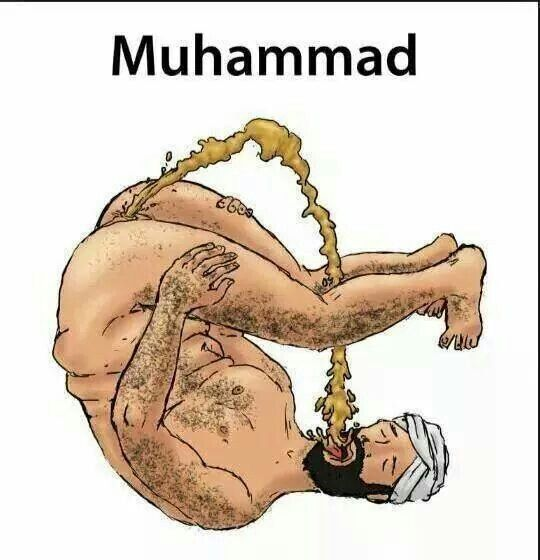 Muslim fucks my mouth like a pussy