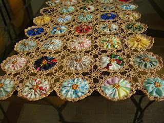 There are so many different craft ideas for Suffolk puffs or yo-yos. They can look daggy or tacky if you're not careful but some things are...