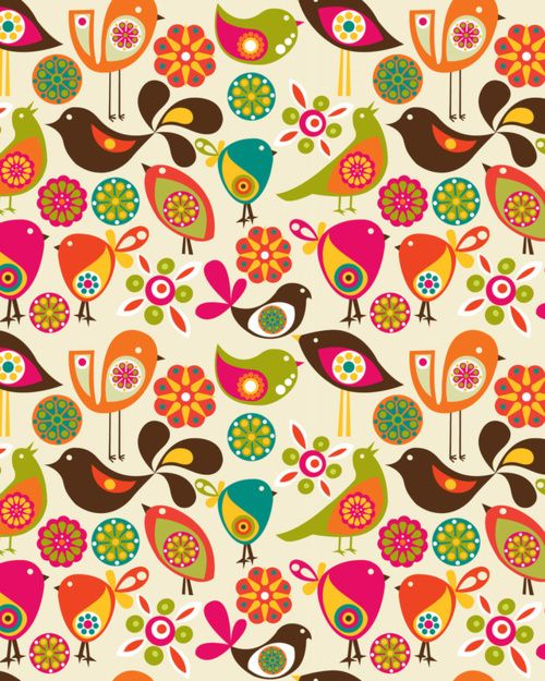 Bird Pattern Ideas for Tweet Board