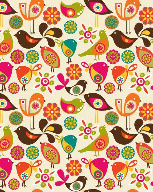 Bird Pattern Ideas for Tweet Board