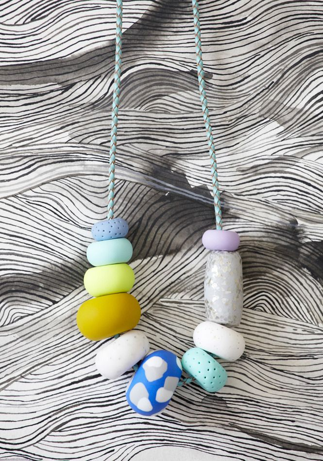 PERI Big Bead Necklace | Emily Green