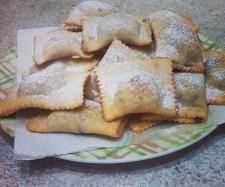 Ricetta Ravioli fritti con ceci e nutella(dolci tipici del sud) pubblicata da das - Questa ricetta è nella categoria Prodotti da forno dolci