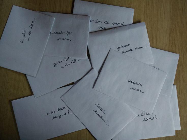 Schrijven - Werken met writing prompts. Het verhaal zoeken achter een bizarre foto.