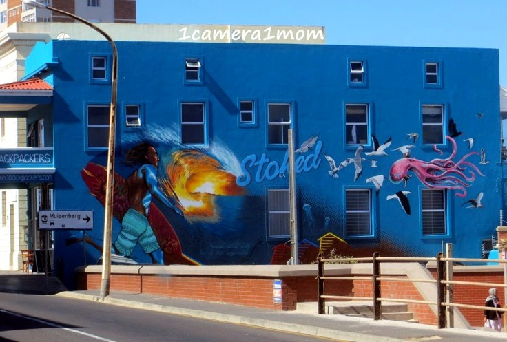 #BackPackers Mural, Muizenberg's essence