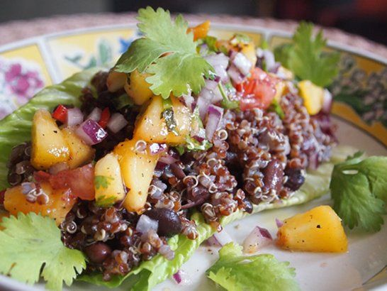... about Quinoa on Pinterest | Black beans, Healthy and Quinoa tabbouleh