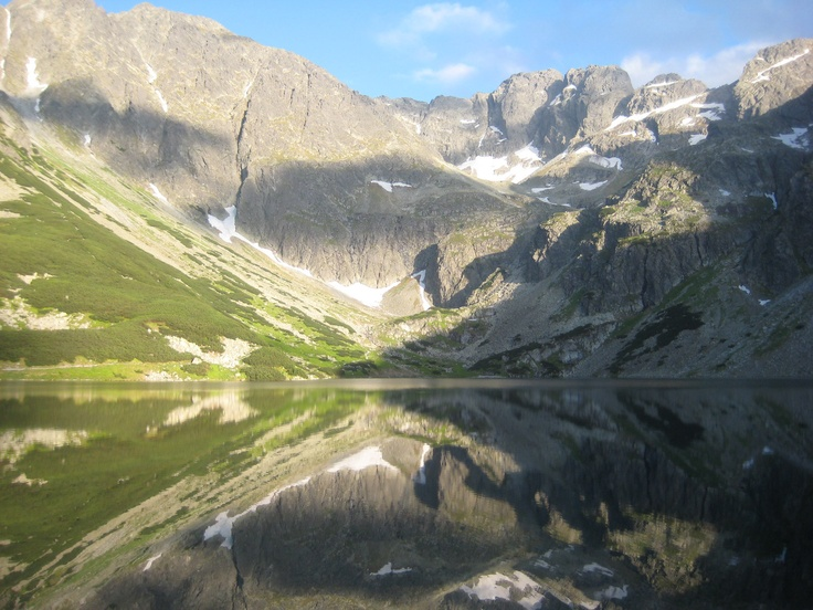 Tatra Mountains on the border of Poland and Slovakia. These magestic mounatains were my husbands' stomping ground as a kid and (whilst climbing them scares the heck out of me) they are truly breathtakingly beautiful.