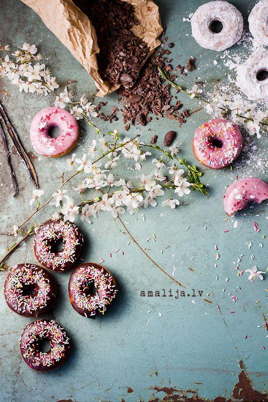 Donuts by Anna Birmane (www.annapanna.lv) Photo: Amalija Andersone (www.amalija.lv)