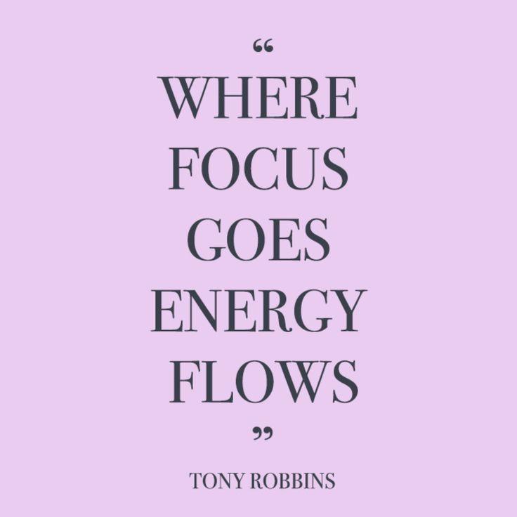 Where focus goes energy follows | Two Plus Luna