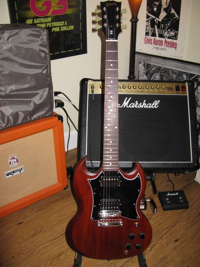 Gibson Sg Faded 2018 Worn Bourbon - Used Instruments
