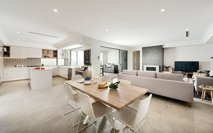 Home Builders Australia | Kitchen | Dining | Display Home | New Homes | Interior Design