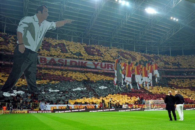 Galatasaray - Beşiktaş / 3D Choreography / 26 FEB 2012