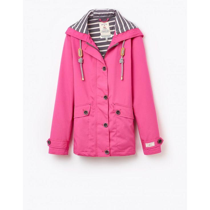Joules Coast Waterproof Hooded Jacket Joules Raincoat, T_COAST