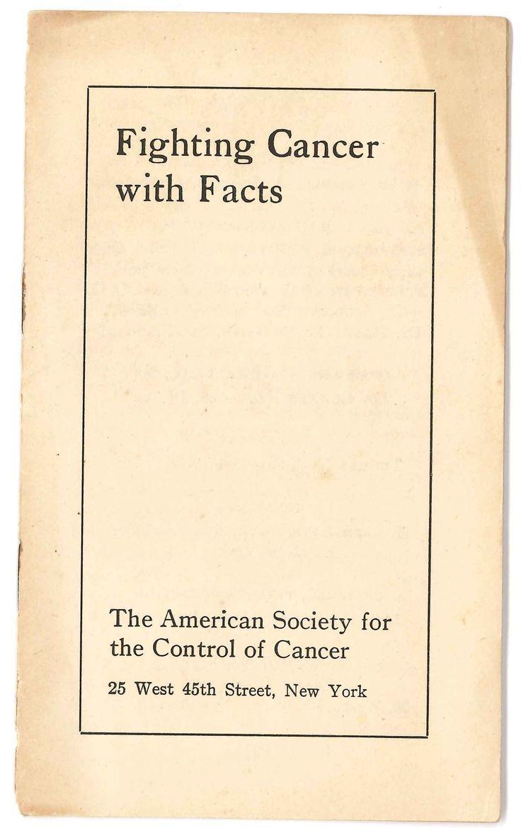 American Cancer Society Essay