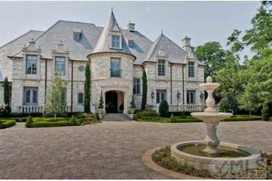 Love the turret entrance and stone exterior!