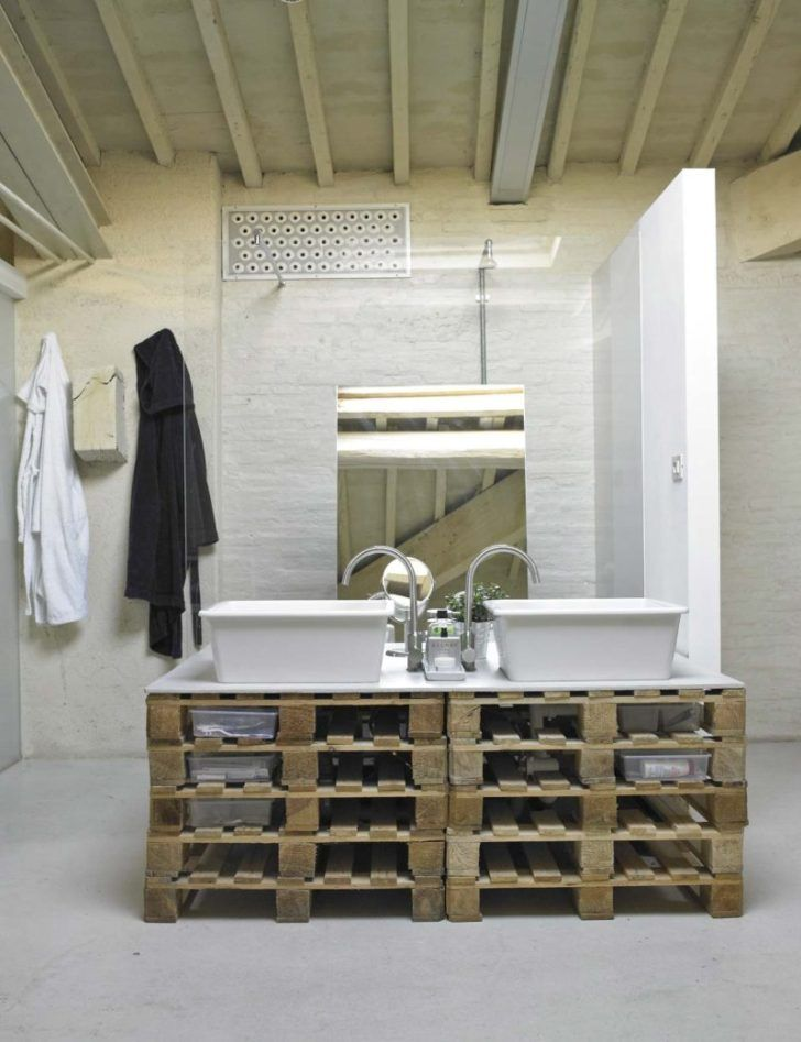 interior design:Salle De Bain Meuble Meubles Industriels ...