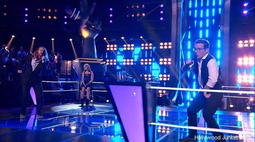 """http://videos.hollywoodjunket.com/2013/04/29/amber-carrington-vs-midas-whale-the-voice-knockout-round/ Watch Midas Whale singing """"Higher Ground"""" vs Amber Carrington singing """"I'm with You The Voice s04e11"""" #TheVoice #TeamAdam #Knockouts"""