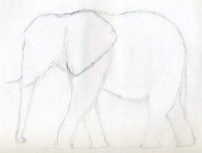 Because you just never know when you might want to know... How to draw an elephant