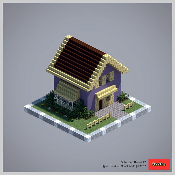 Suburban House 2 616 best Minecraft images