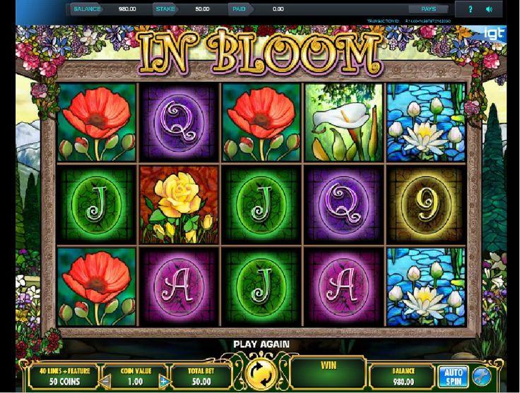 Slot maskinen In Bloom tilby bonussymboler, hvor du kan vinne enda større premier enn vanlig #Slotmaskinen #InBloom
