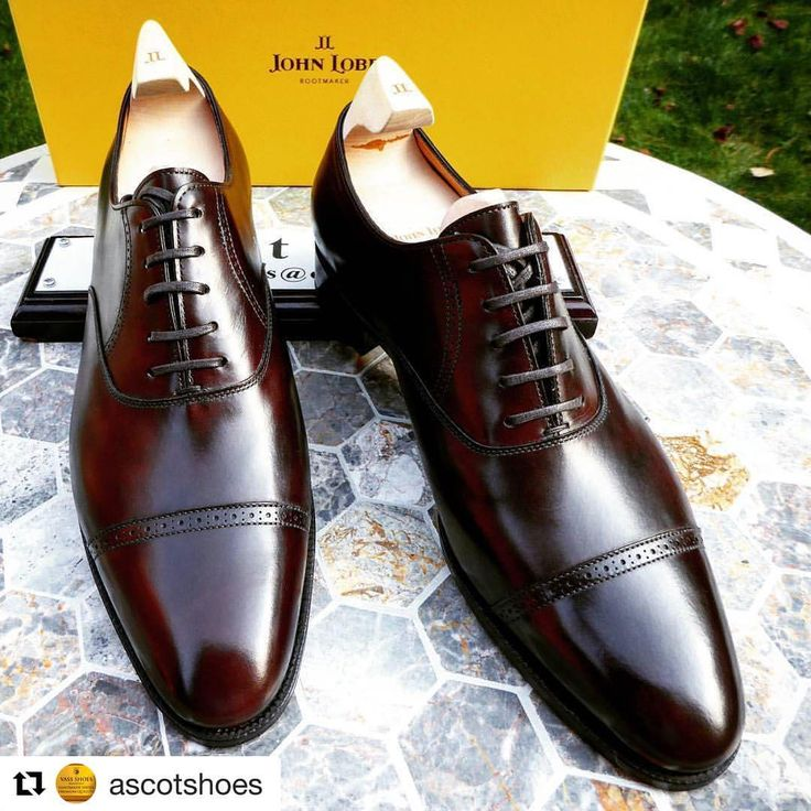 "italian-journey: "" From @ascotshoes Very casually, @philippe_atienza mentioned the other day that one of his bespoke designs was adapted to the RTW line of @johnlobb. Back then he was working for John Lobb Bespoke, among others heading the department..."