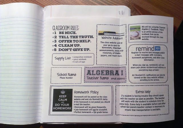 Syllabus by Everybody is a Genius, Love it!!