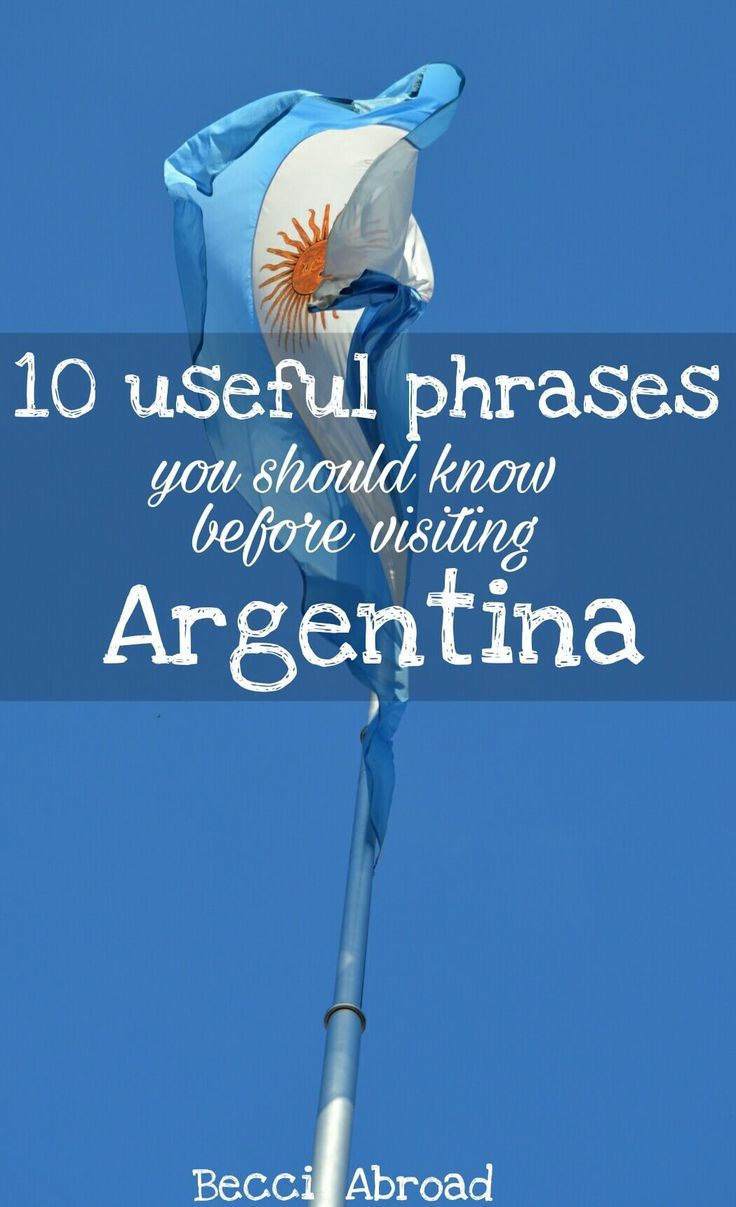 Are you worried about not being able to understand a word of Argentine Spanish? This quick guide to Spanish in Argentina will get you on track.