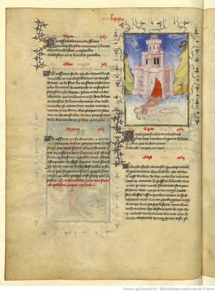 L'Epistre Othea à Hector, fol 20v